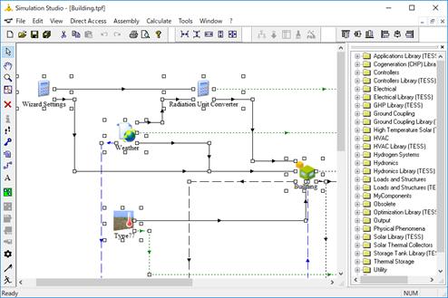 Simulation Studioの画面を1枚に印刷する