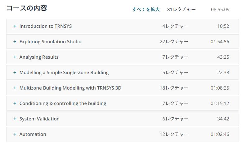 TRNSYS.GURUのオンラインラーニングコース