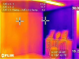 FLIR ONE で熱画像を撮る