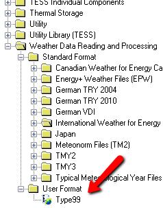 TRNSYSで気象庁のデータを読み込んでみる
