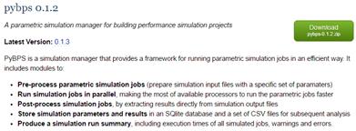 Pythonを使ってTRNSYSでパラメトリックシミュレーション