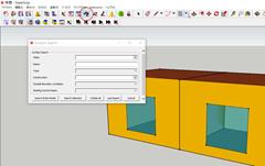 TRNSYS3Dで面の設定を確認する